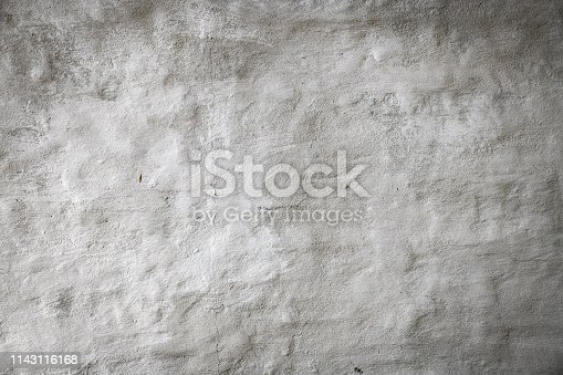 Close-up white grunge old wall texture