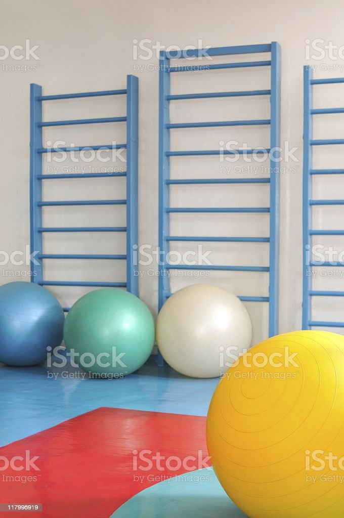 Wall bars royalty-free stock photo
