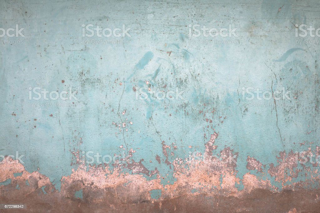 Wall blue vintage background. stock photo