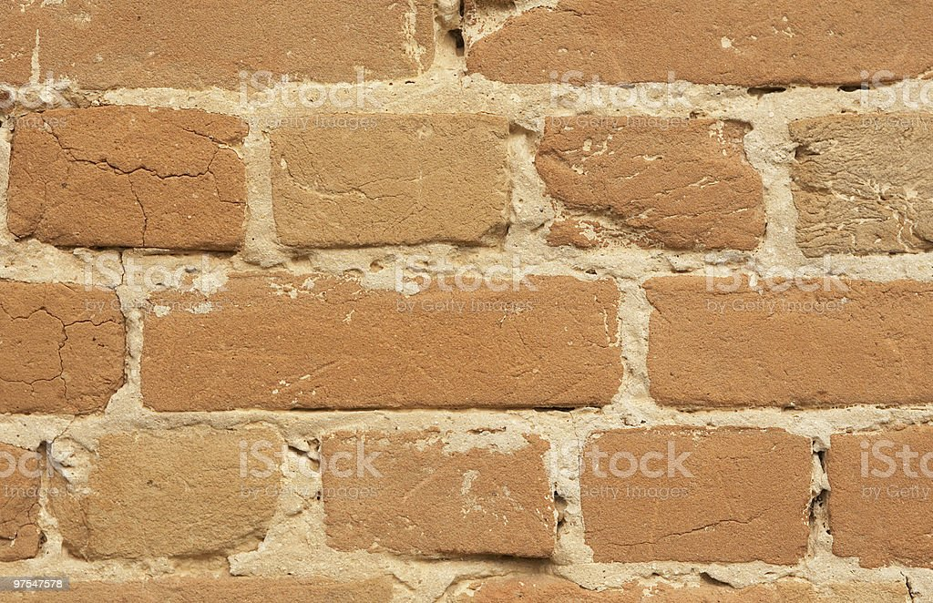 wall brick cracked background royalty-free stock photo