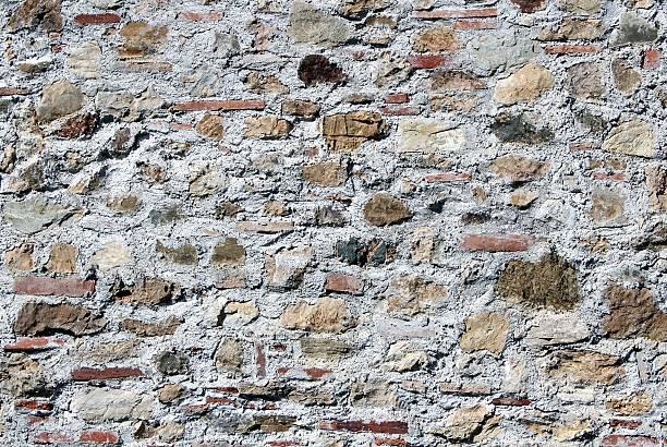 Wall brick stone stock photo