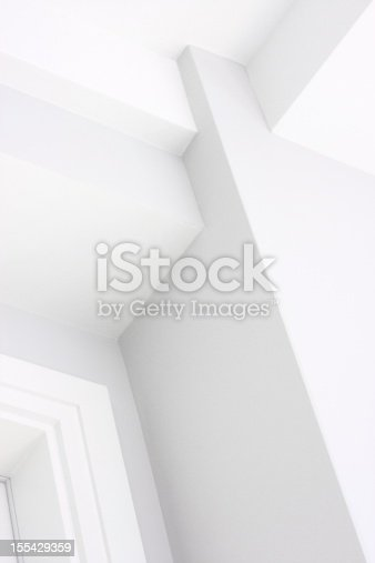 168248826 istock photo Wall Ceiling Corner Architecture Decor 155429359