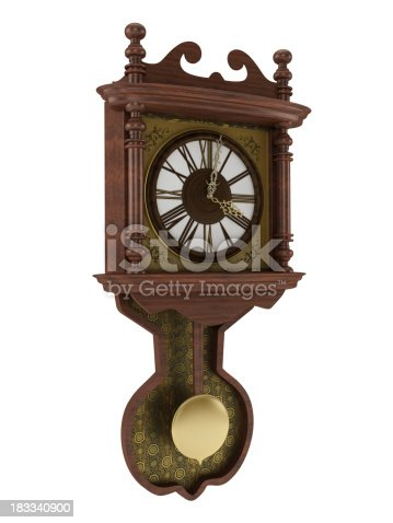istock Wall clock 183340900
