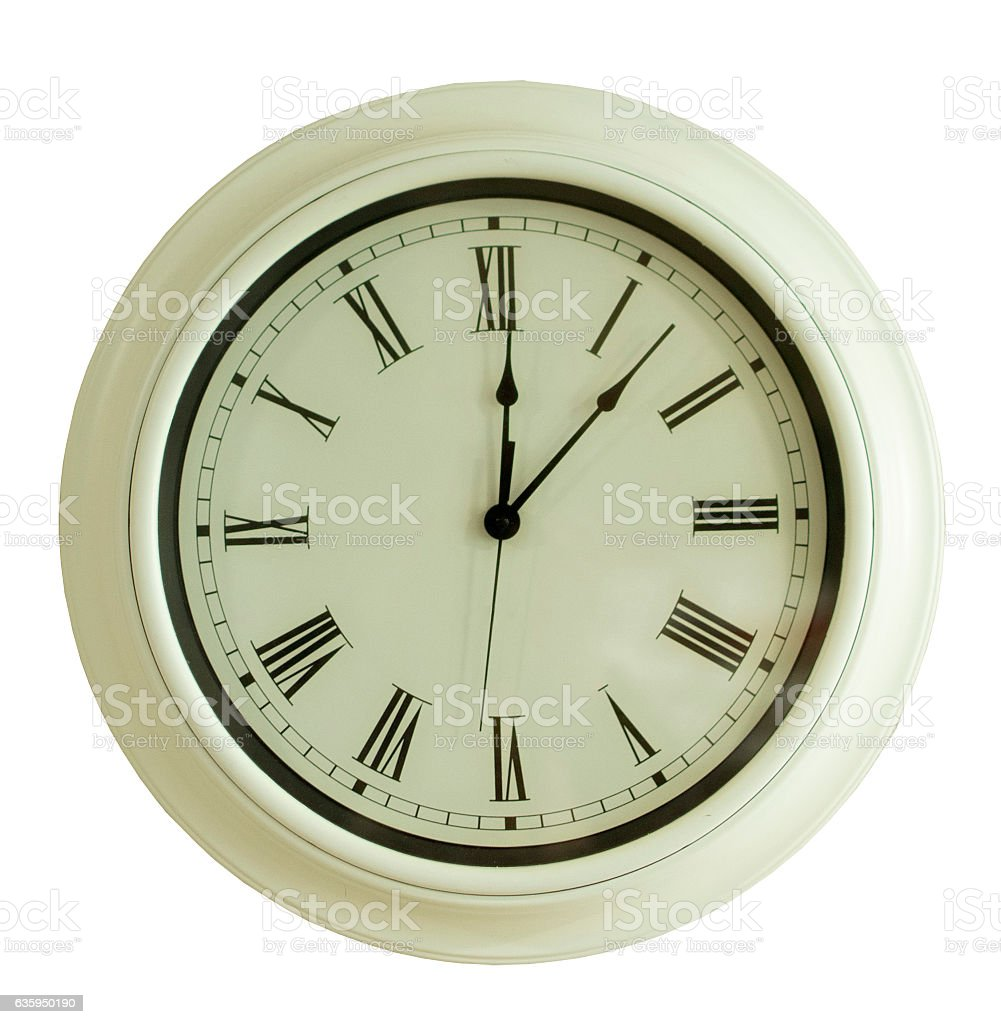 Reloj de pared  - foto de stock