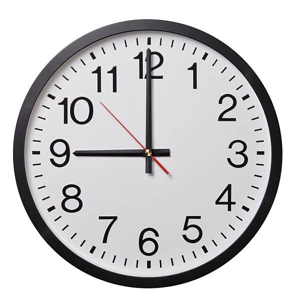 reloj de pared - wall clock fotografías e imágenes de stock