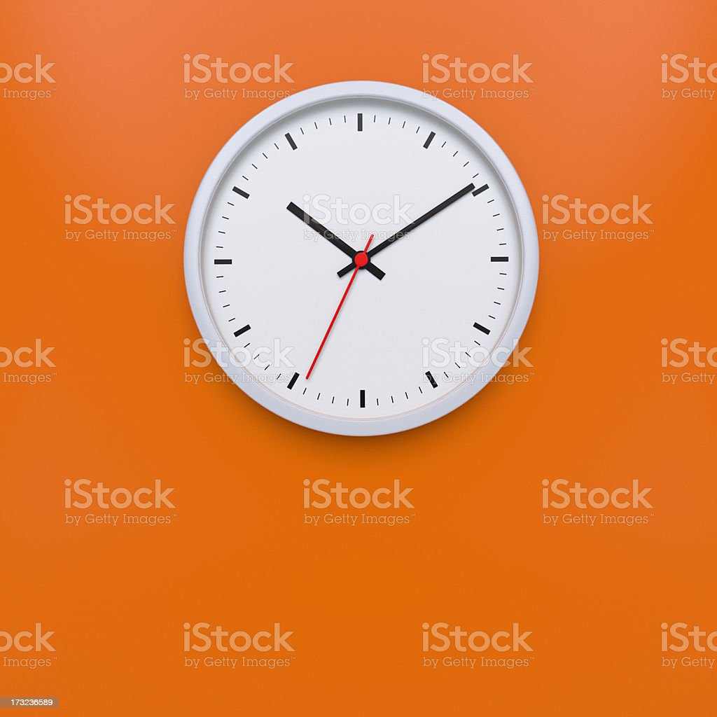 Wall Clock XL+ stock photo