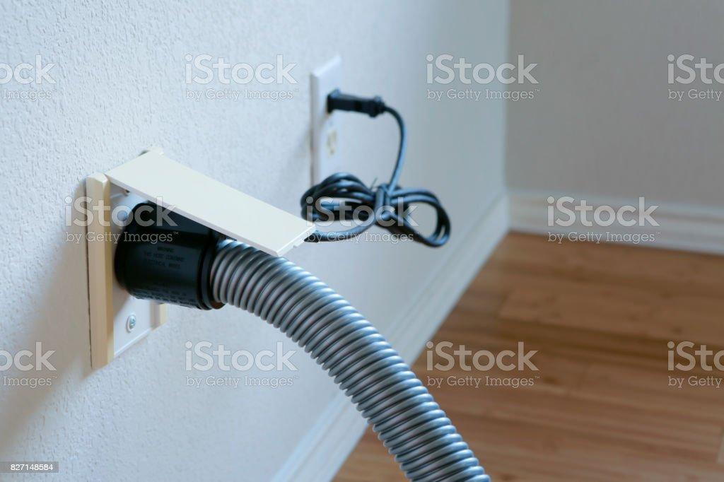 conexión de la pared - foto de stock