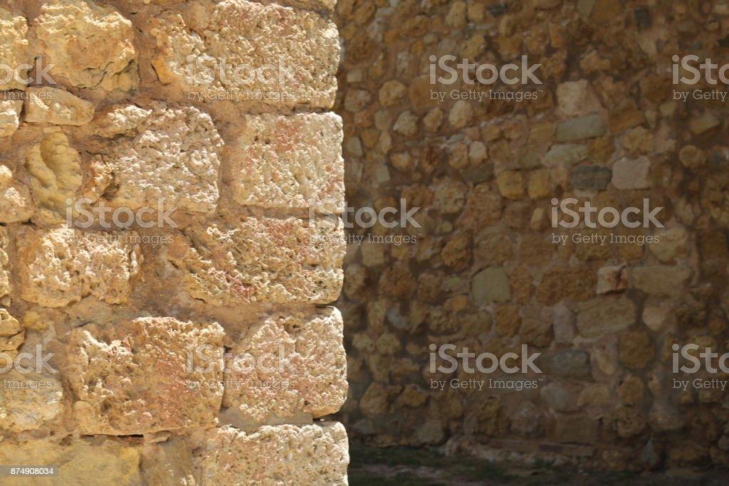 Mur d'angle - Photo