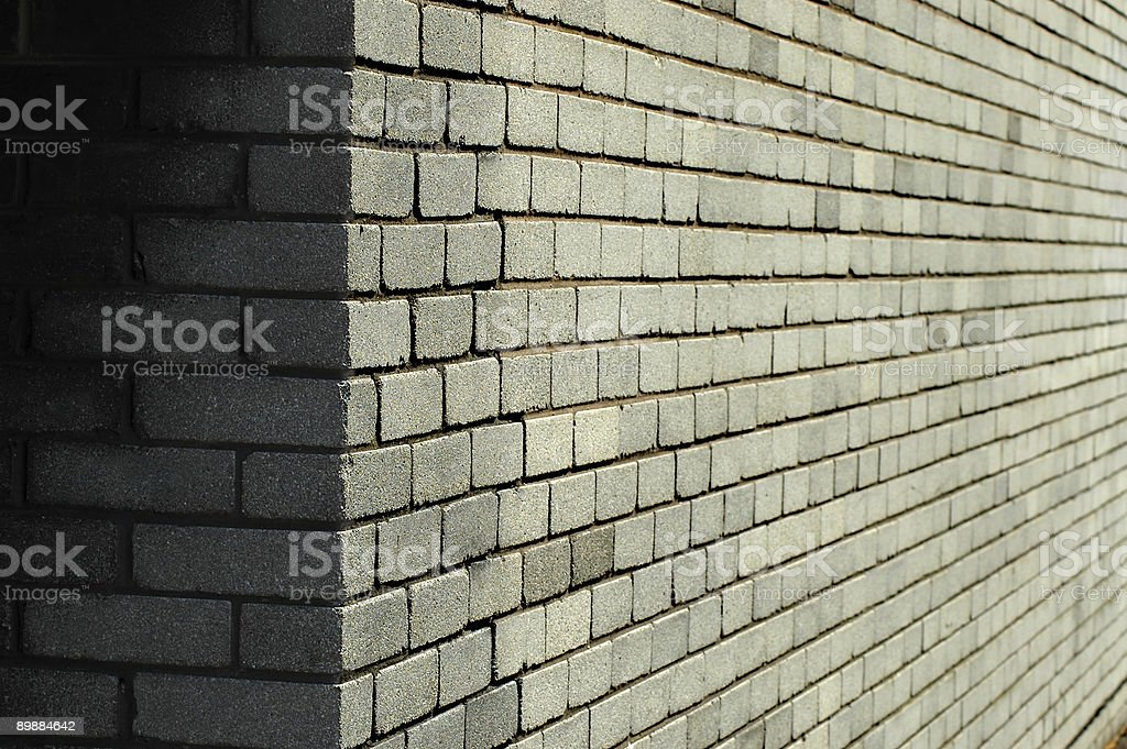Wall corner royalty-free stock photo