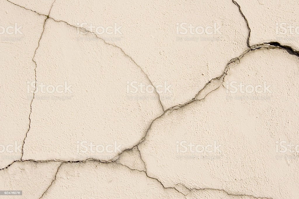wall crack royalty-free stock photo