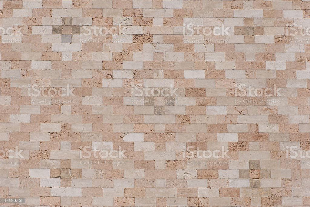 Wall Detail of the Palazzo Ducale in Venice stock photo