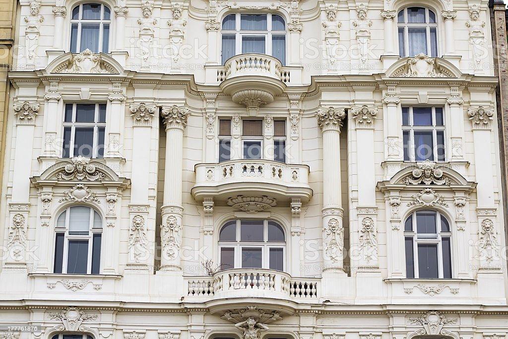 Wall facade, Vienna royalty-free stock photo