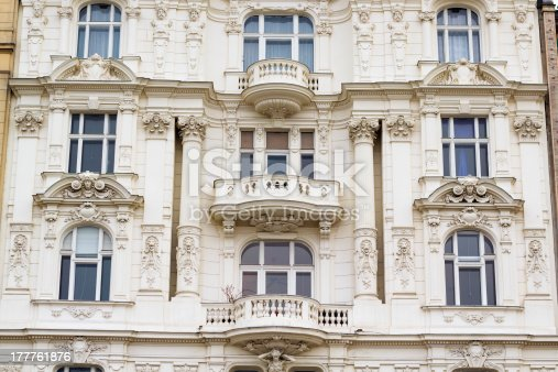 istock Wall facade, Vienna 177761876