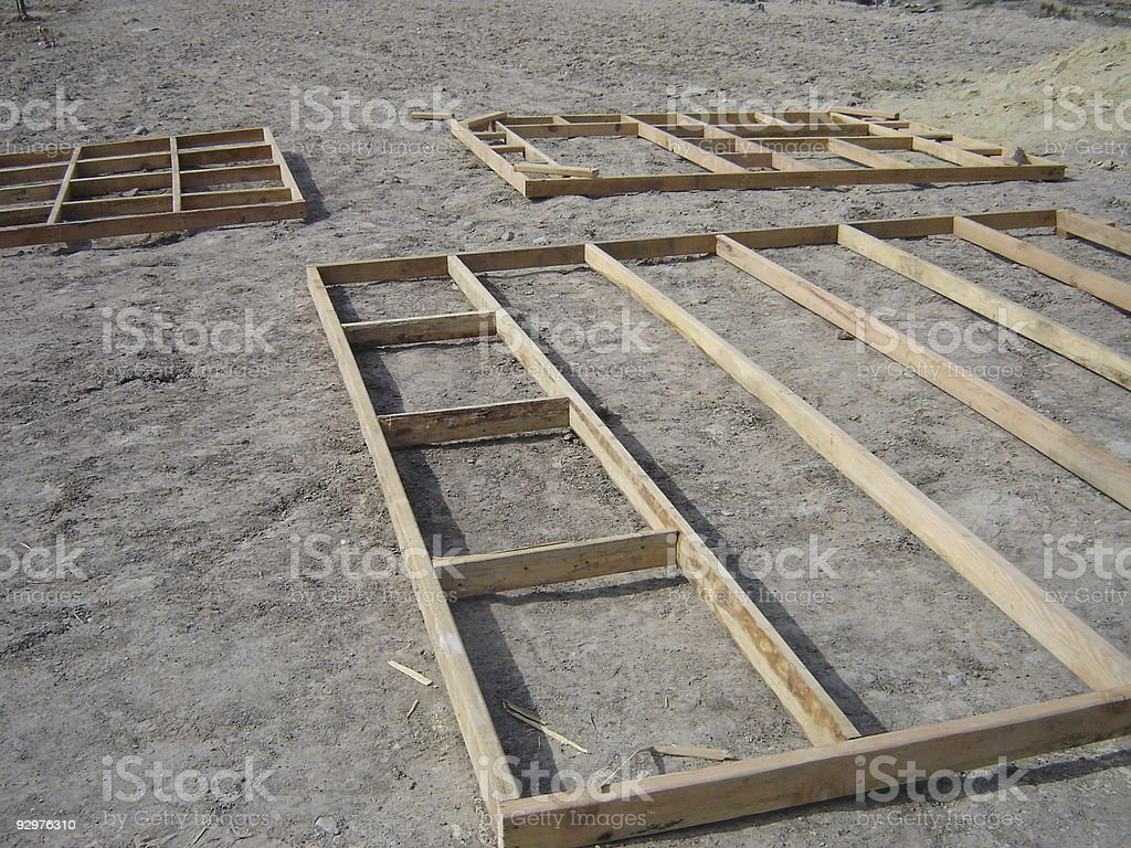 Wall Frames royalty-free stock photo