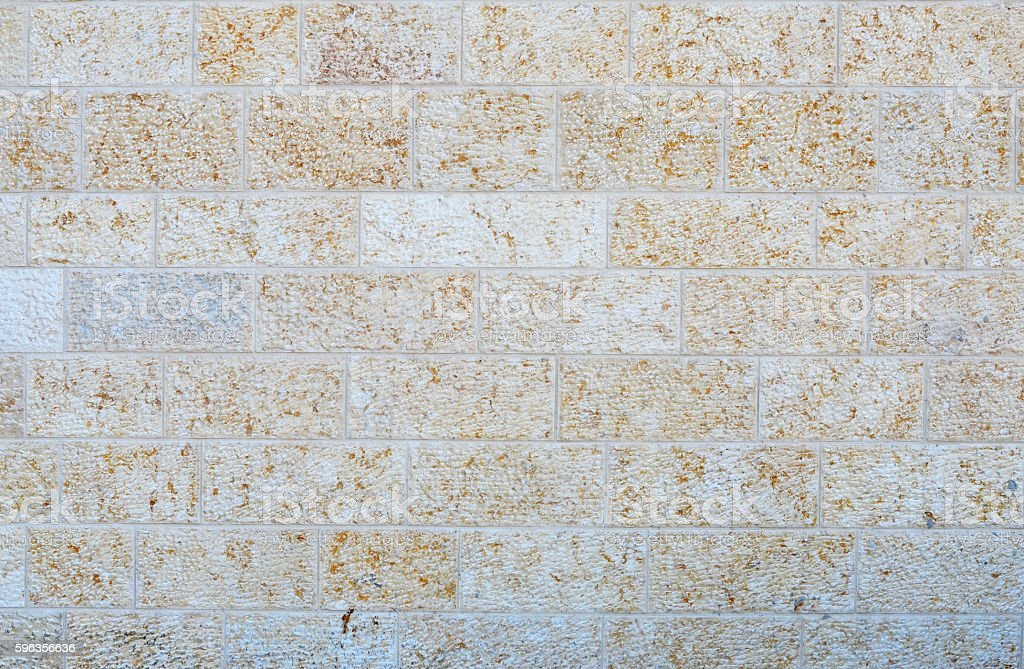 Wall from a white brick closeup royalty-free stock photo