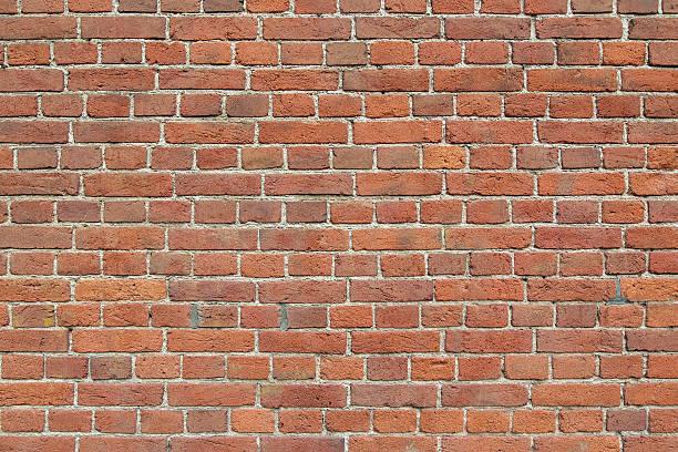 Wall from bricks. stock photo