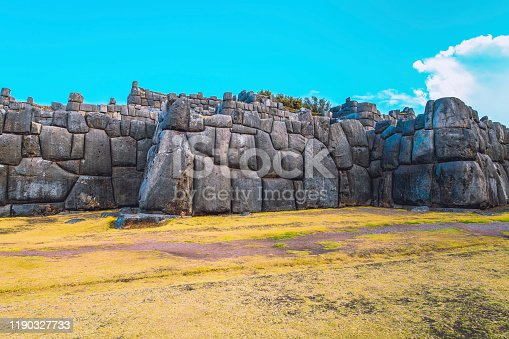 Sacsayhuaman is an old Inca citadel in the outskirts of Cusco, Peru.