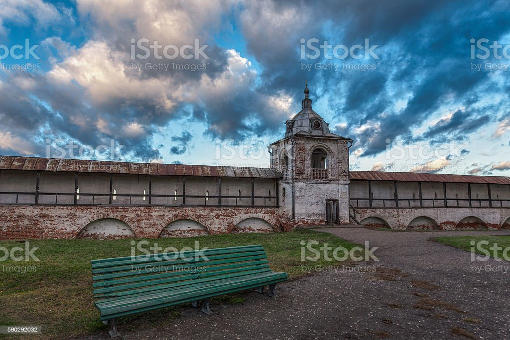 wall in a shadow of clouds royaltyfri bildbanksbilder