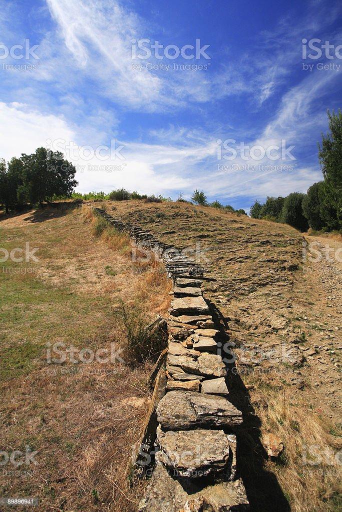 Wand in die Felder-Sommer (Portugal Lizenzfreies stock-foto