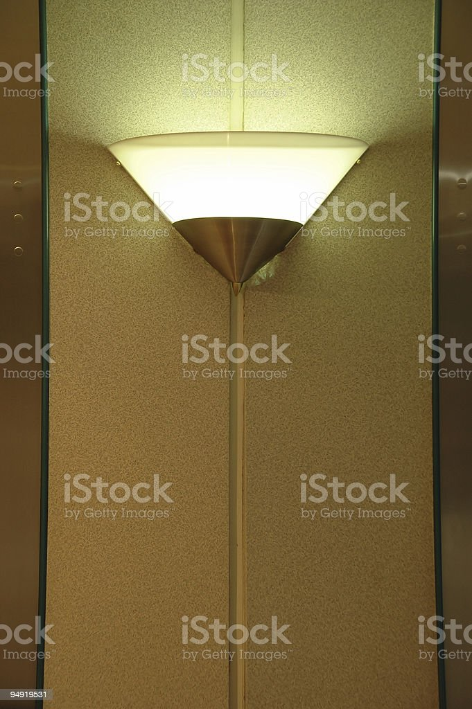 Wall lamp royalty-free stock photo