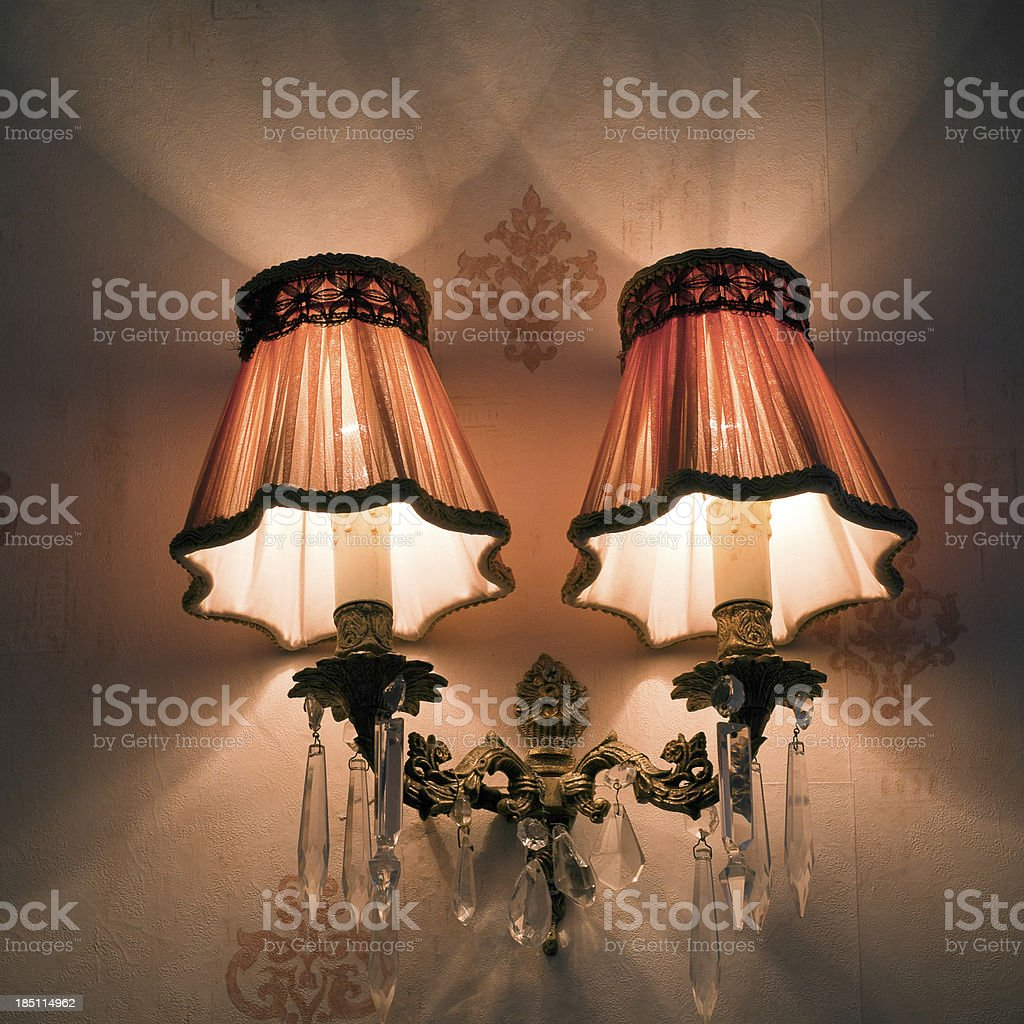 Wall Lamps royalty-free stock photo