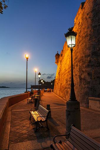 istock Wall lanterns San Juan 619526596