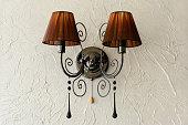 Wall light. Vintage wall lamp.