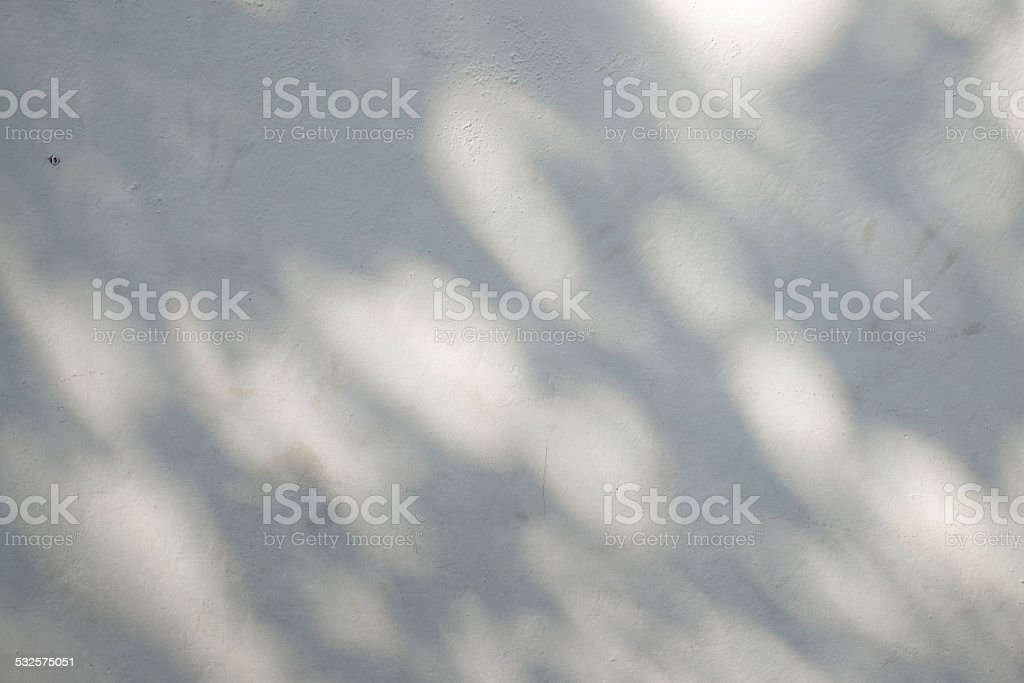 Wall light with shadows stock photo
