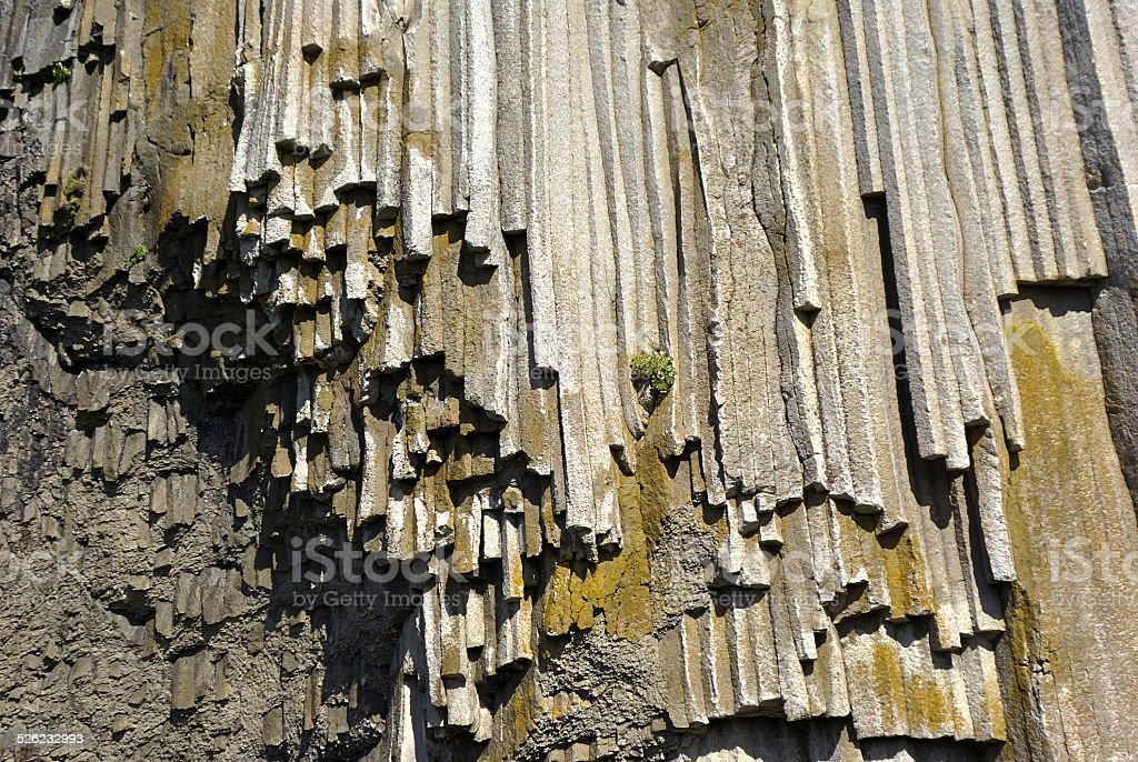 Wall natural stone background stock photo