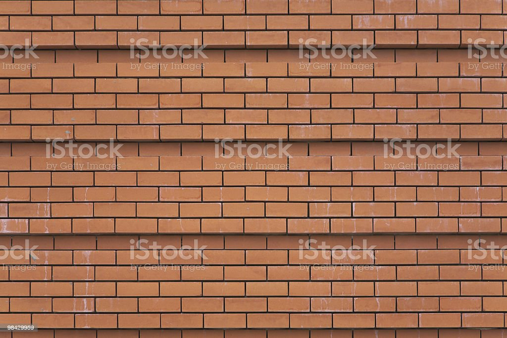 Wall of a cathedral royalty-free stock photo