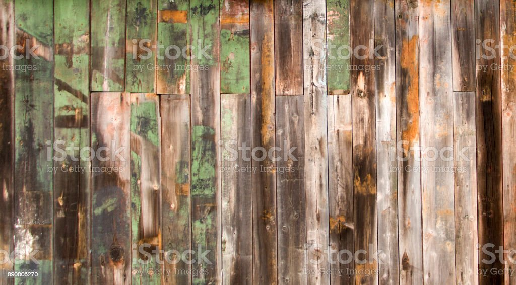 wall of a house with a log house, vintage wood texture in high resolution stock photo