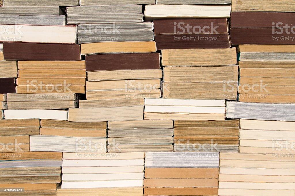 壁の書籍 ストックフォト