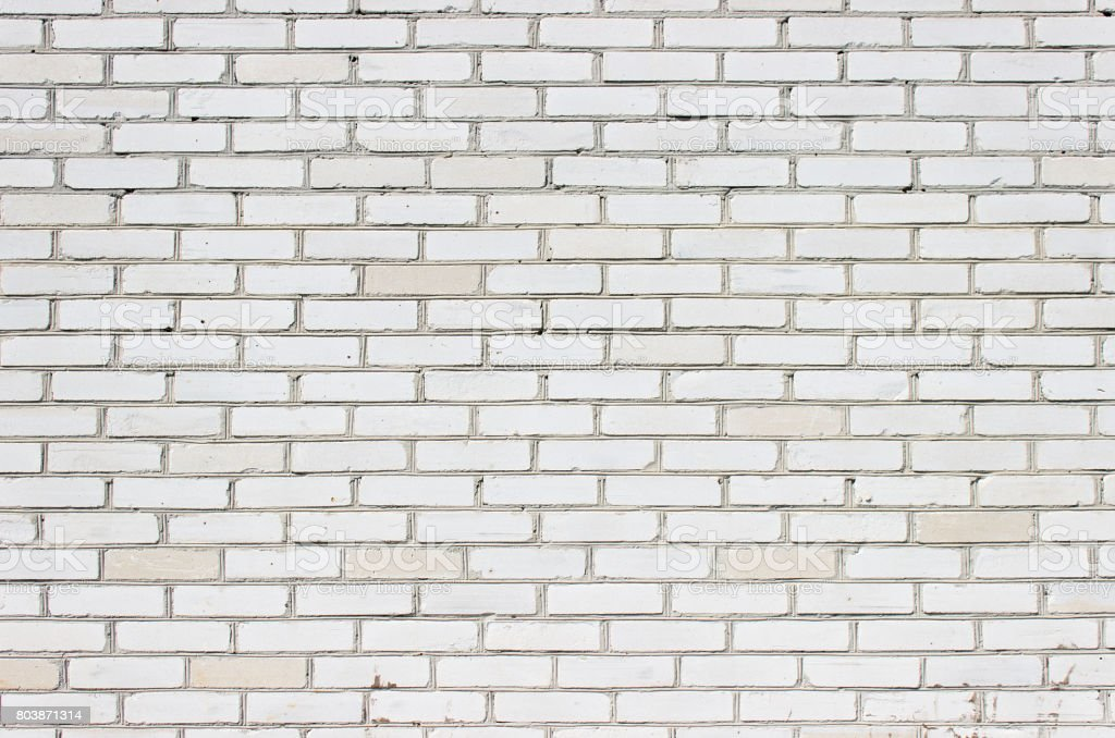 Wall of bricks stock photo