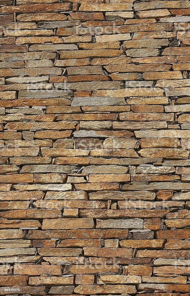 Wand aus Ziegel Lizenzfreies stock-foto