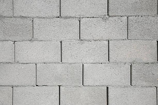 betonblock wand - betonblock wände stock-fotos und bilder