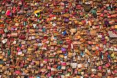 istock Wall of padlocks 1249596883