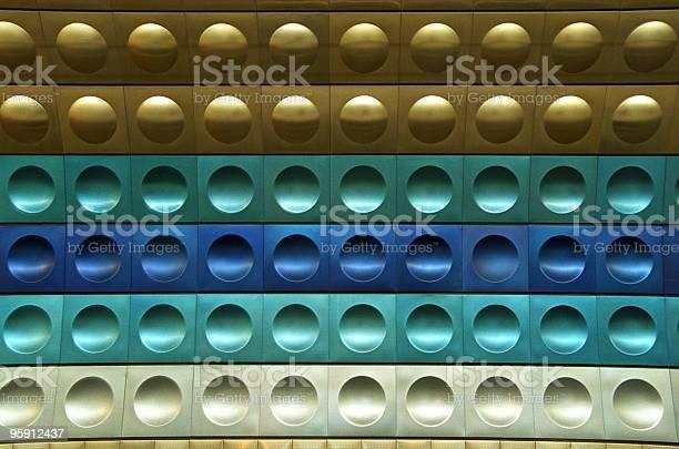 Wall of Prague Subway Station