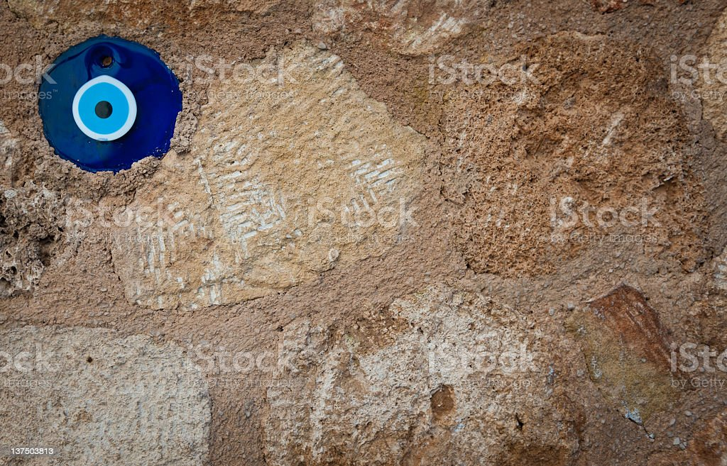 Wall of Protection stock photo