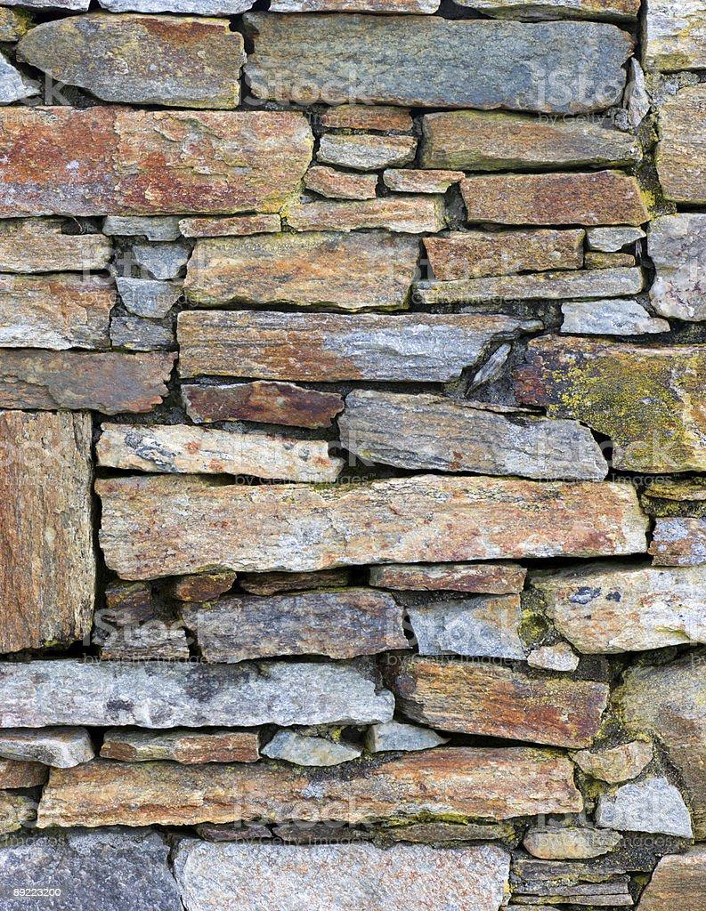 Wall of stone royalty-free stock photo