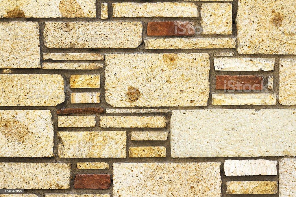 Wall of Stones royalty-free stock photo