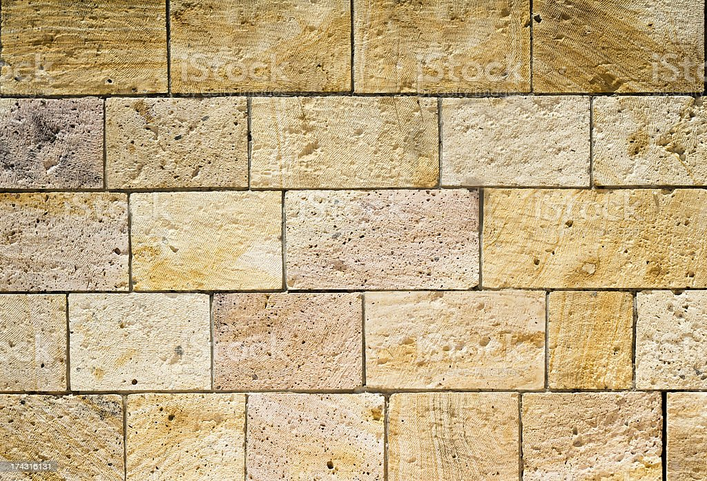 Wall of Stones royalty-free stock photo