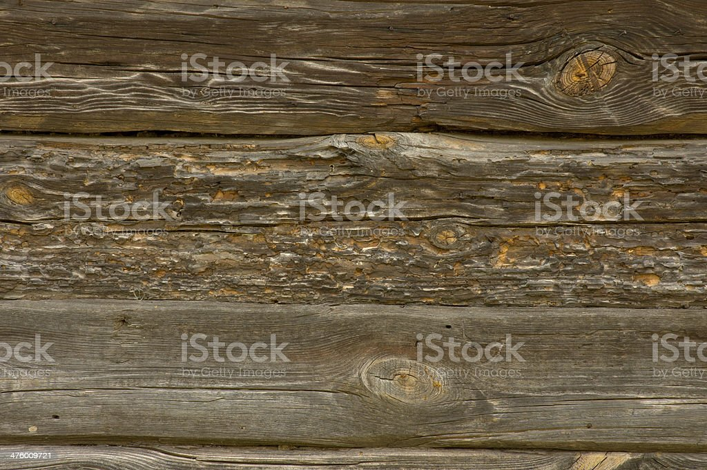Wall of the old log royalty-free stock photo