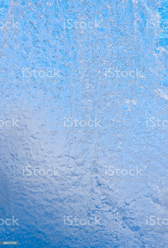 Wall Of Water royalty-free stock photo