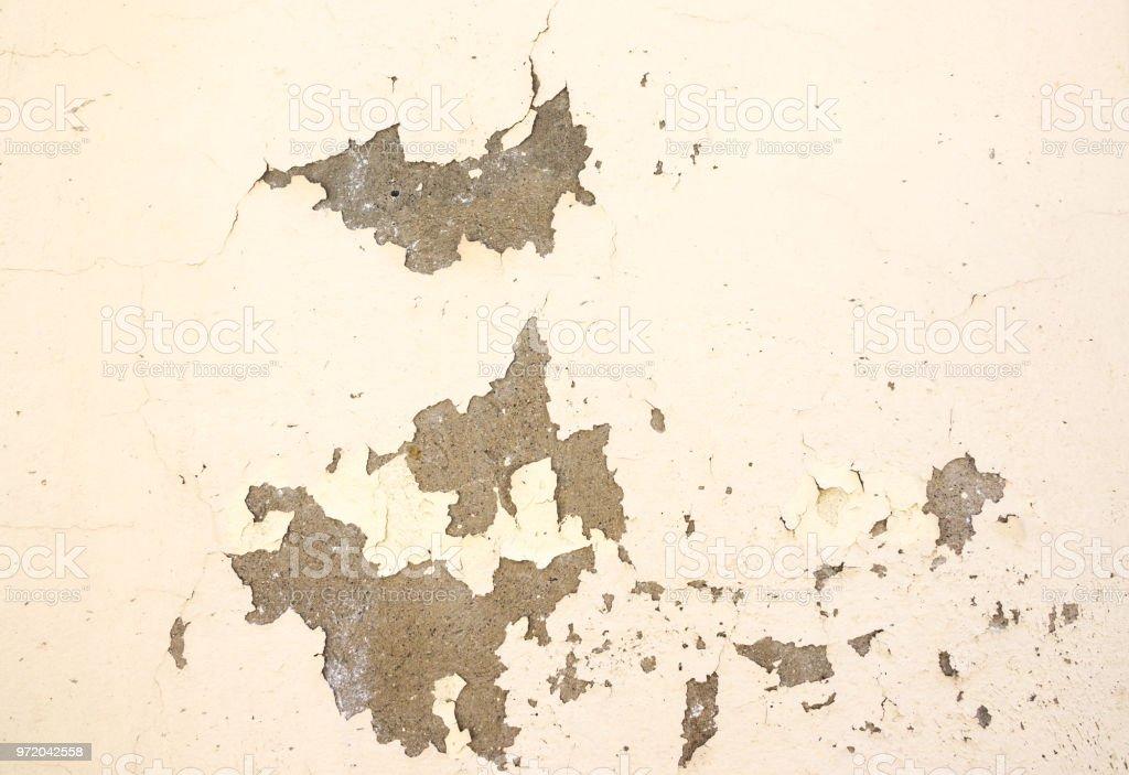 Wandfarbe Abplatzt Wegen Der Feuchtigkeit Stockfoto und mehr ...