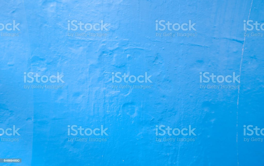 Wall painted blue texture stock photo