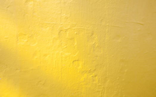 Background of sweet yellow wall texture