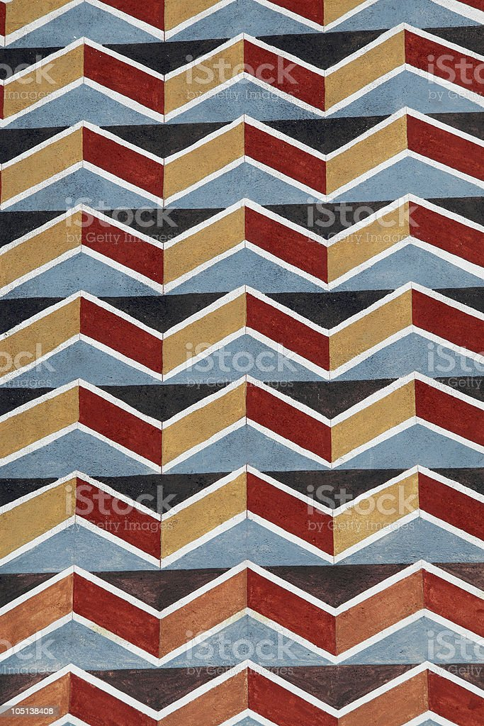 wall painting pattern royalty-free stock photo