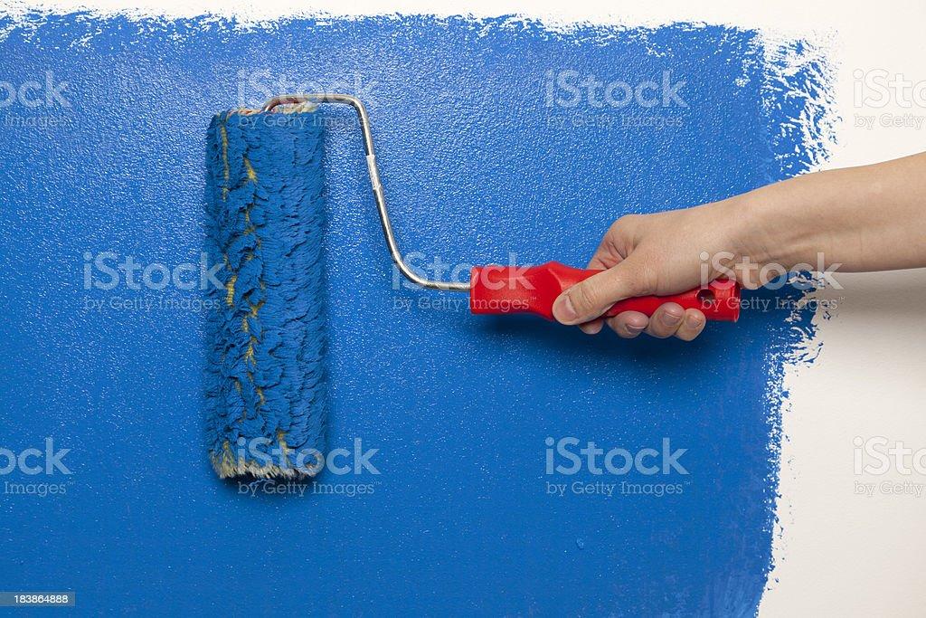 Wall painting - Royalty-free Activity Stock Photo