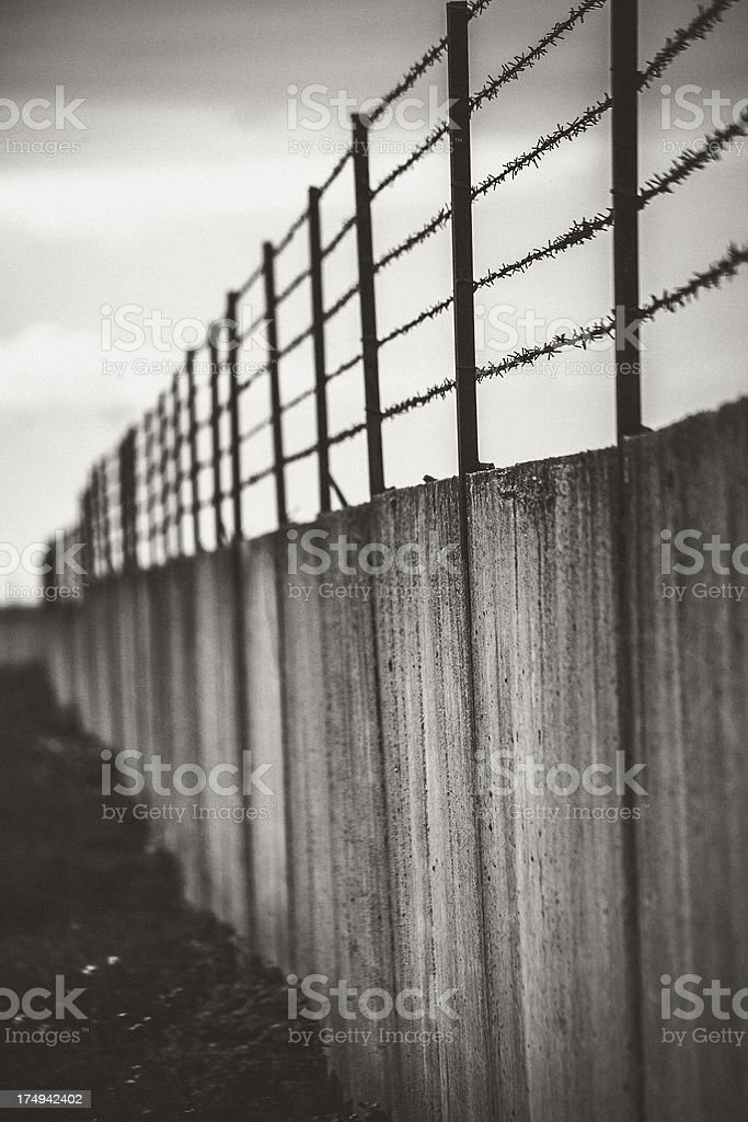 Wall. stock photo
