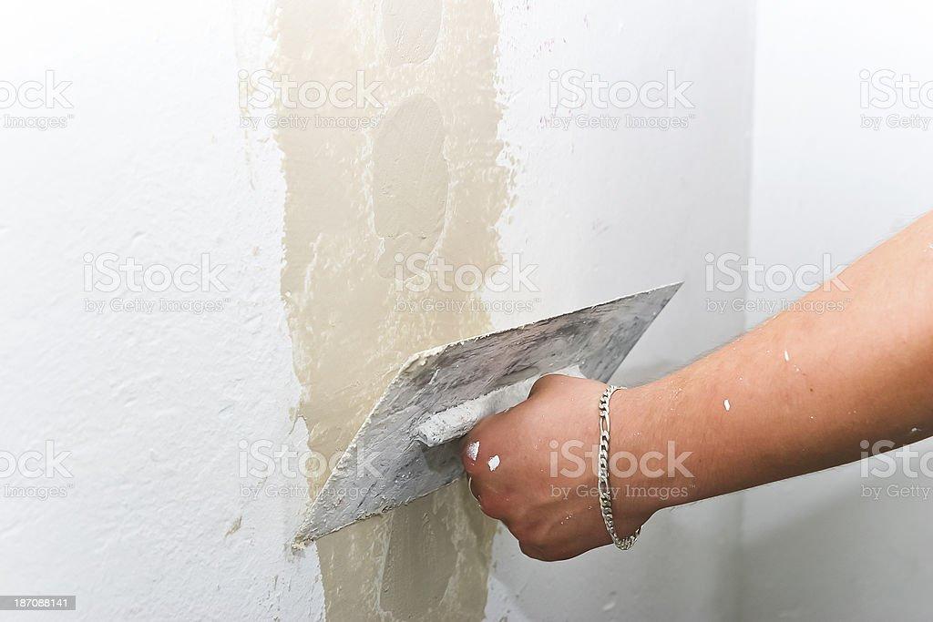 Wand reparieren – Foto